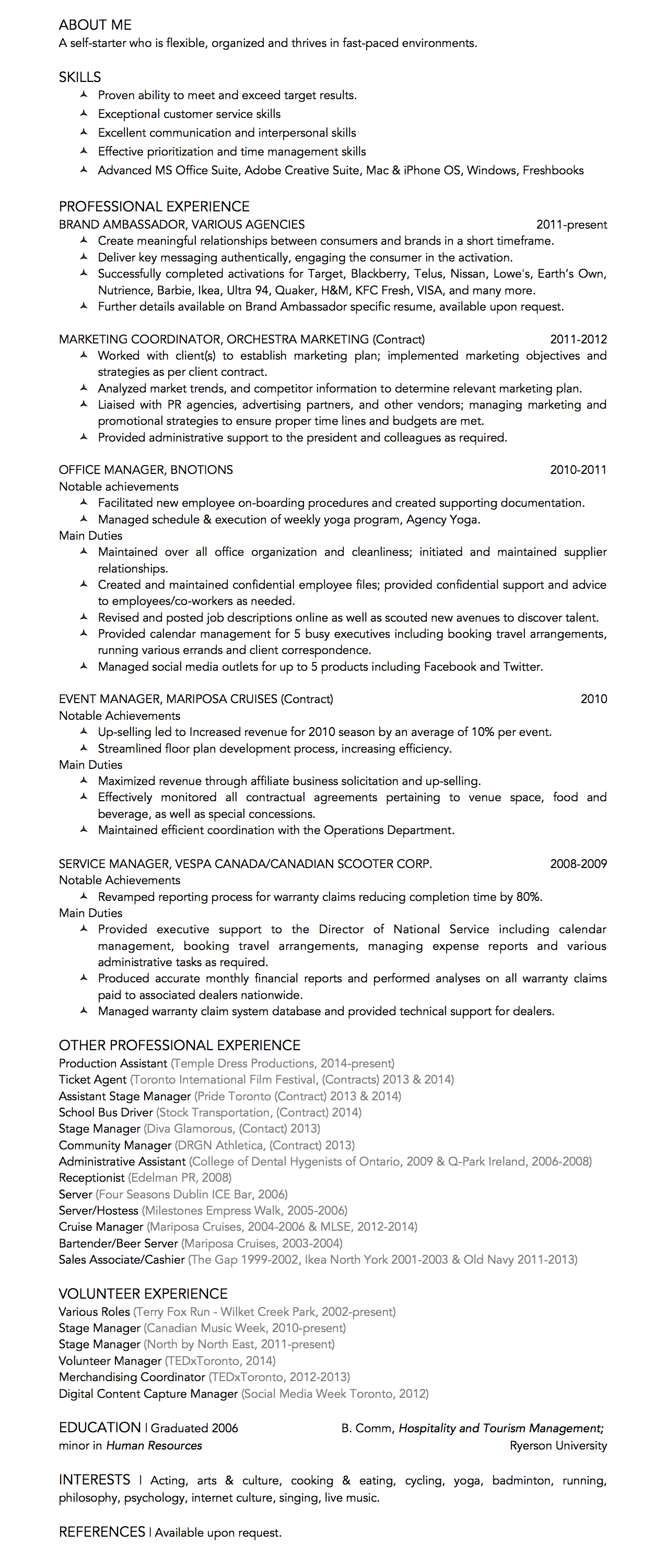 Click to view PDF resume